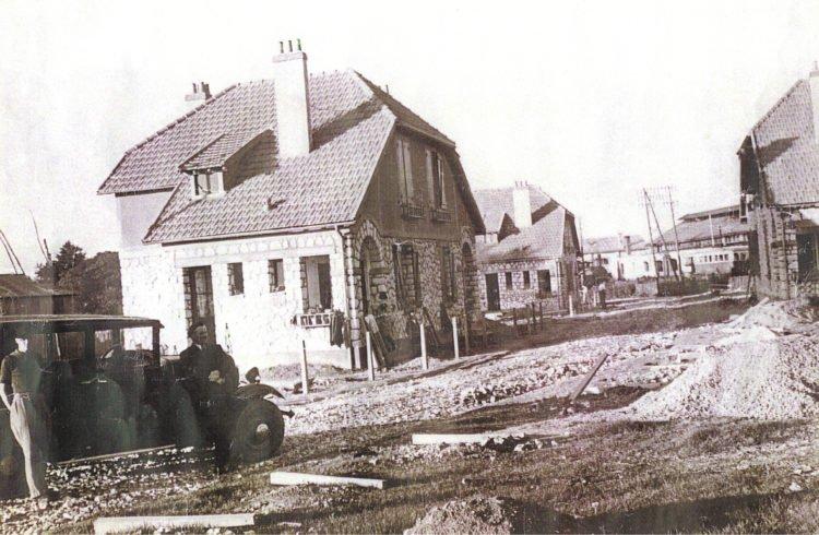 Histoire du bailleur social de Vendée Habitat avec la résidence La Gare à Fontenay le Comte