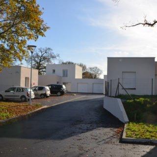Des logements en préiphérie réalisés par Vendée Habitat dans le cadre de la rrénovation urbaine (ANRU)