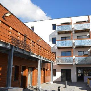 Des programmes alliant des méatiraux nobles réalisés par Vendée Habitat dans le cadre de la rénovation urbaine (ANRU)