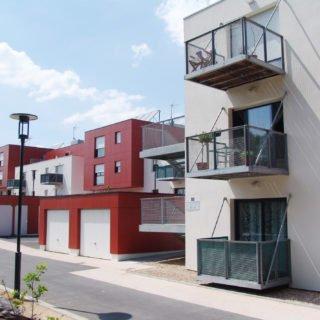 Les 35 logements de Maison Neuve des Landes dans le cadre de l'ANRU