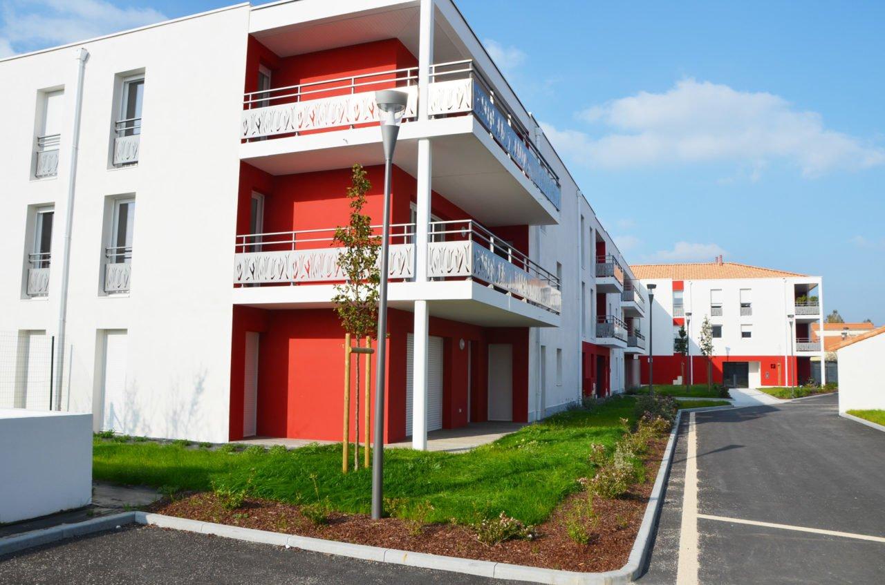 La résidence Escale Ouest aux Sables d'Olonne, un exemple de densfication urbaine