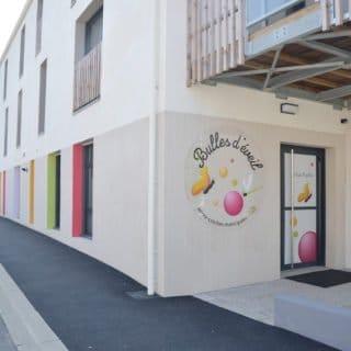 Exemple d'aménagement urbain à Moutiers-les-Mauxfaits