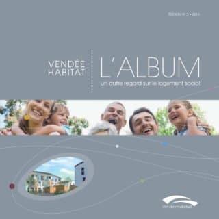 L'album n°3 de Vendée Habitat pour porter un autre regard sur le logement social (logement HLM)