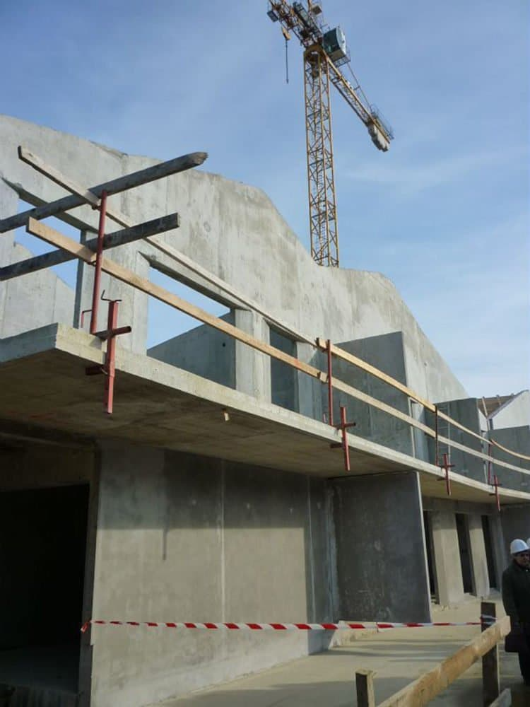 Les métiers de la construction