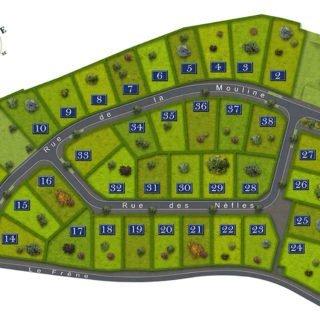 Chantonnay - lotissement l'Entrée de la Combe à Saint-Mars-des-Prés - terrains à bâtir