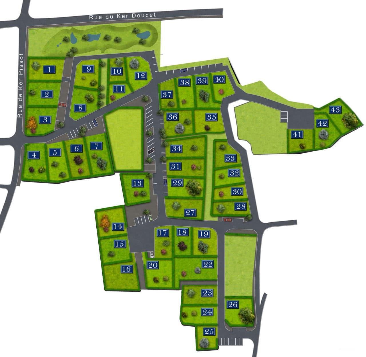 lotissement Ile d'Yeu terrains à bâtir avec Vendée Habitat