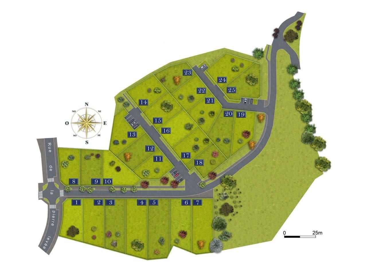 lotissement Saint-Laurent-sur-Sèvre terrains à bâtir