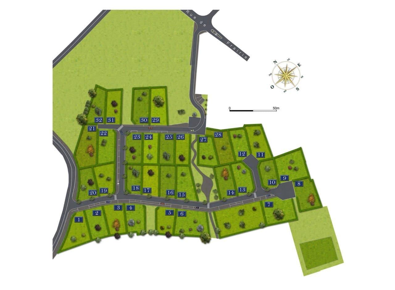 lotissement Saint-Martin-des-Noyers terrains à bâtir