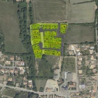 Sainte-Foy - Lotissement Les Rives de Vertonne - terrains à bâtir