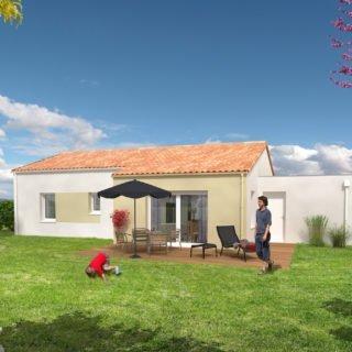 Catalogue psla - Maison Antares - T4-jardin