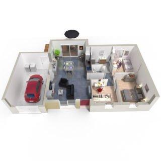 Catalogue psla - Maison Antares - T4-plan