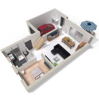 Catalogue psla - Maison Atria - T5-plan