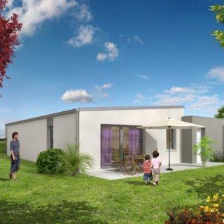 Catalogue psla - Maison Naos - T3-jardin