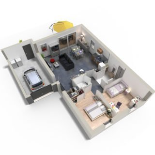 Catalogue psla - Maison Naos- T3-plan