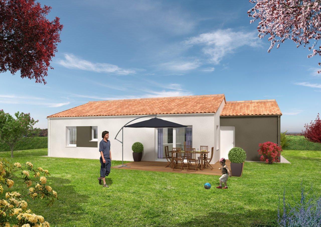 Catalogue psla - Maison Pégase- T4-jardin