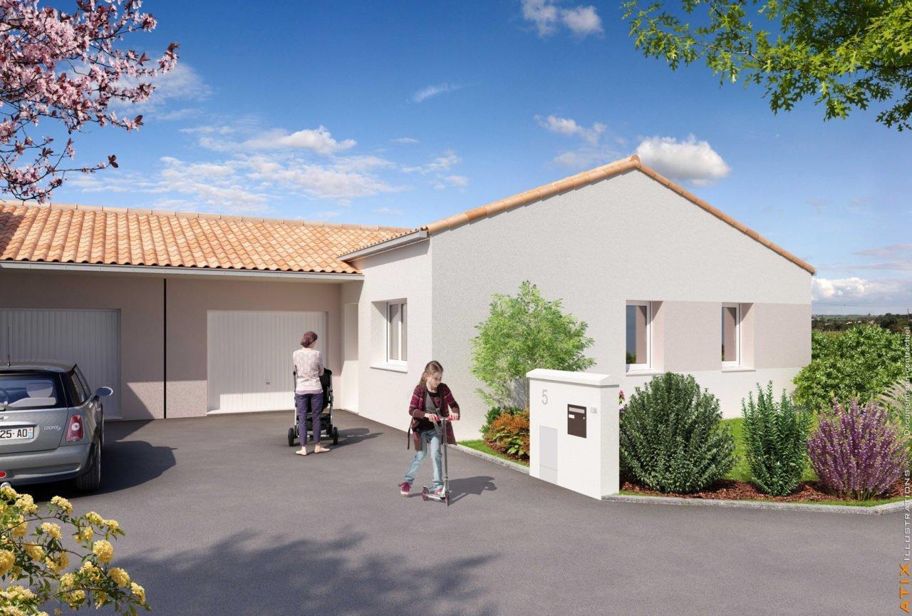 Maison en location à Mortagne-sur-Sèvre