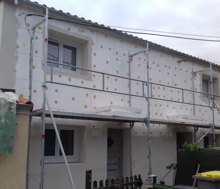 rénovation du patrimoine - isolation thermique par l'extérieur