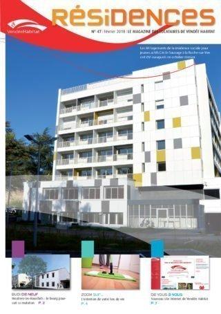 Résidences n°47 - journal des locataires de Vendée Habitat