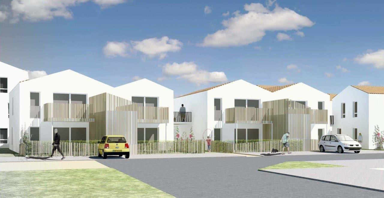 32 logements à Saint Hilaire de Riez, avec le programme de la Grande Vigne