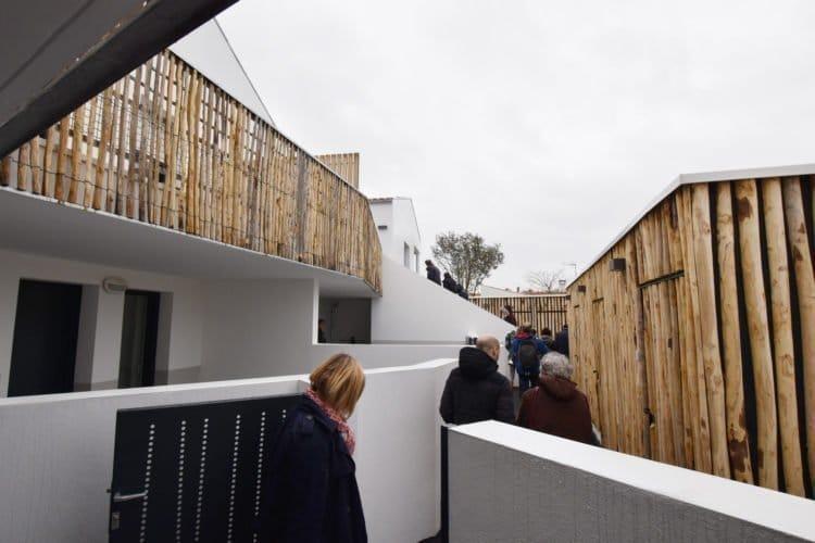 Les nouveaux logements à La Guérinière, exemple de densification
