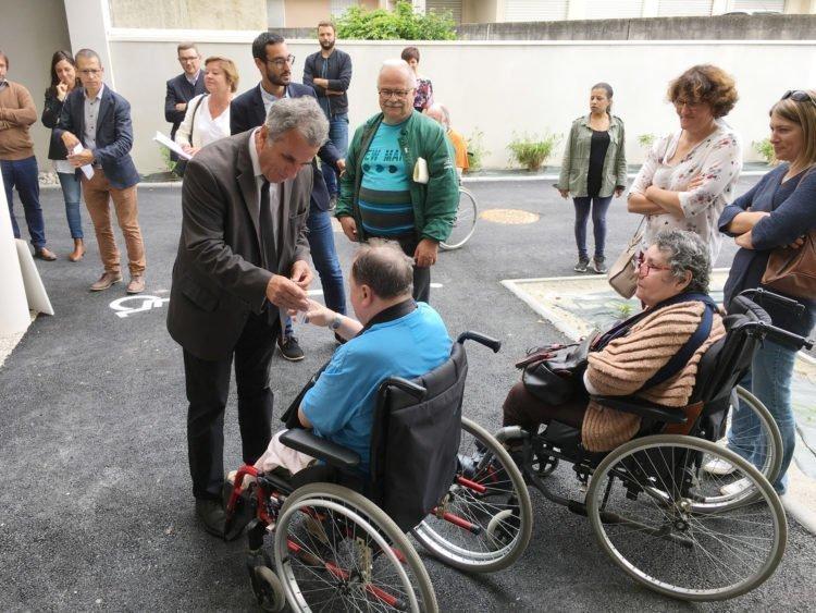 Parmis les 20 nouveaux logements à La Roche sur Yon, 4 sont destinés aux personnes en situation de handicap, grâce au partenariat avec Handi Espoir
