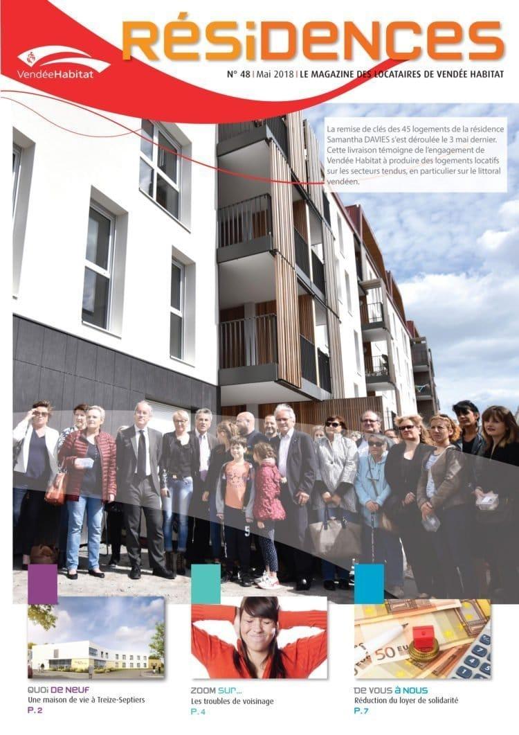 Le magazine des locataires de Vendée Habitat - n48