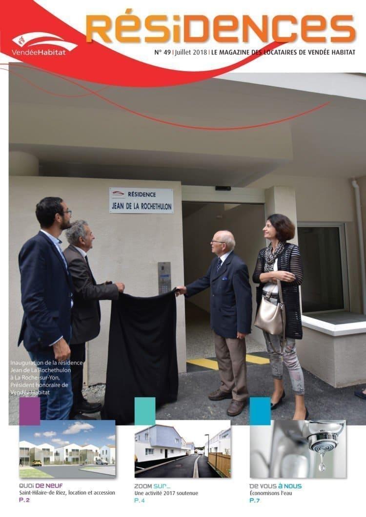 Journal des locataires de Vendée Habitat - Résidences n49