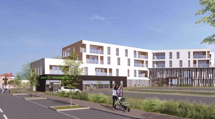 Le Pôle santé de Montaigu, l'un des projets de Vendée Habitat, à l'occasion des 15000 logements locatifs