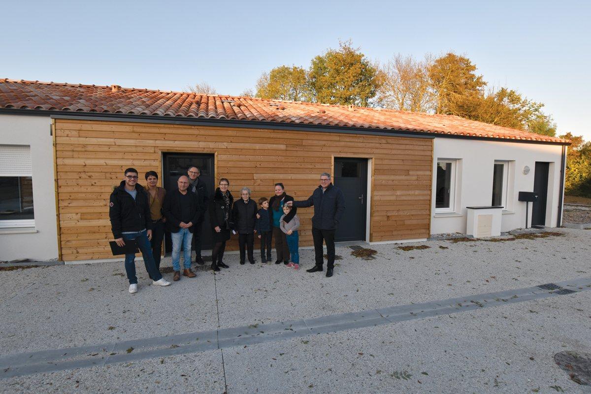 Deux nouveaux logements à Montréverd en maintien à domicile