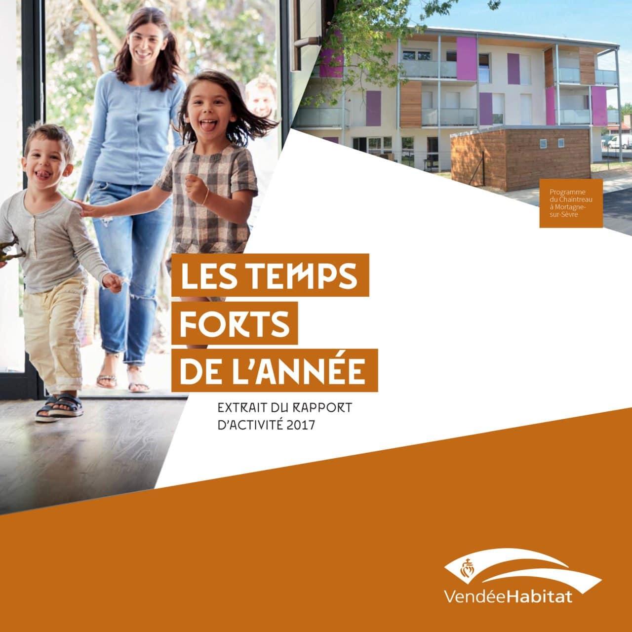 Vendée Habitat - Logement social - Rapport d'activité 2017