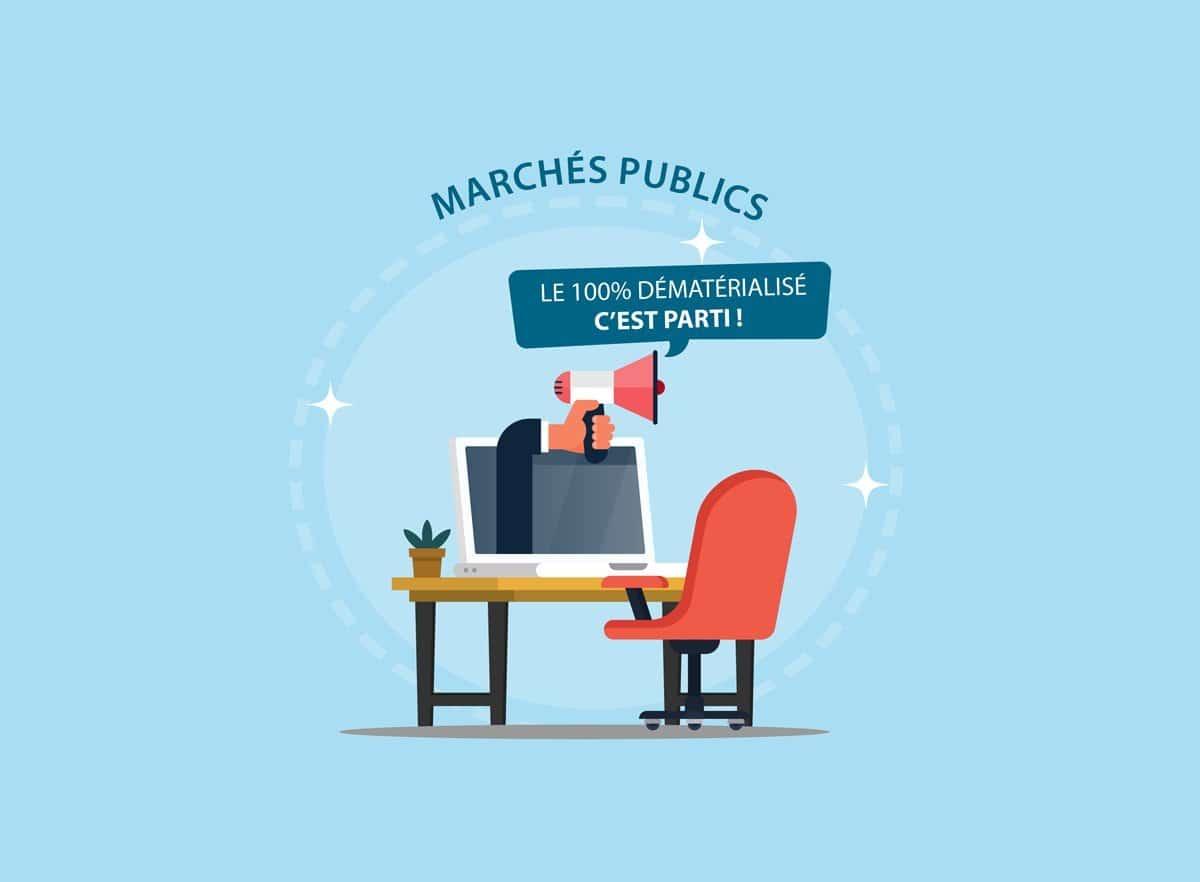 dématérialisation des marchés publics - octobre 2018