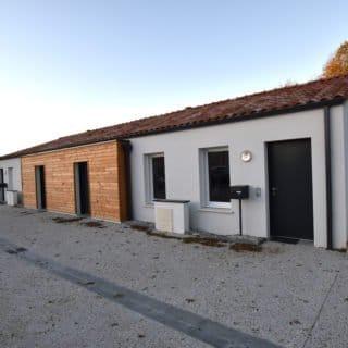 Livraison de deux logements à Montréverd