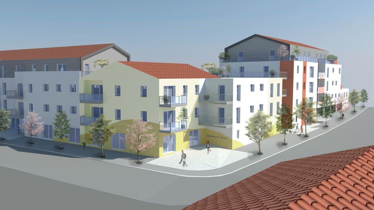 Futur projet de logements à Saint-Hilaire-de-Riez