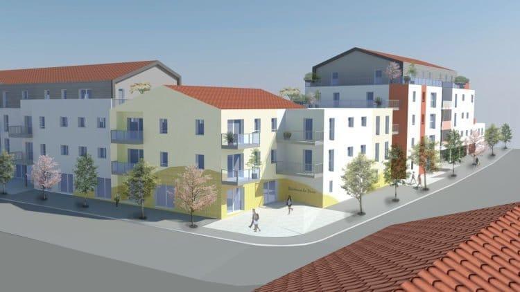 Futur projet de logements à Saint-Hilaire-de-Riez, l'un des projets de Vendée Habitat