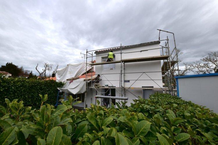 réhabilitation de la résidence La Chapotiere à la Châtaigneraie