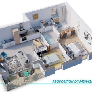 Appartements à Olonne sur Mer - Résidence Meltem - Appartement T3