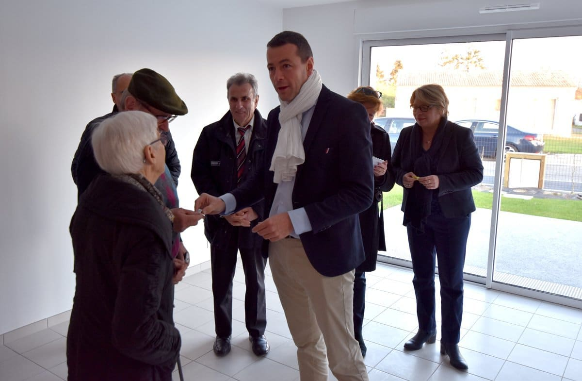 Remise de clés de 4 logements à Montaigu-Vendée - La Guyonnière