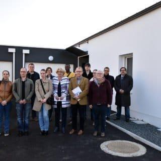 Remise de clés des 4 logements à Chavagnes en Paillers