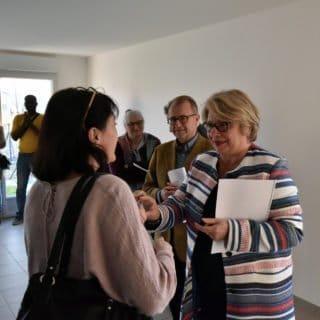 Logements à Chavagnes en Paillers : visite et remise de clés