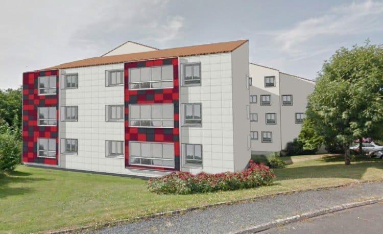 Lancement de la réhabilitation des logements à La Chataigneraie en vue d'une amélioration thermique