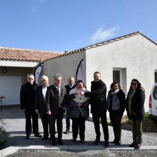 Noirmoutier-en-l'île - troisième maison en accession à la propriété livrée par Vendée Habitat