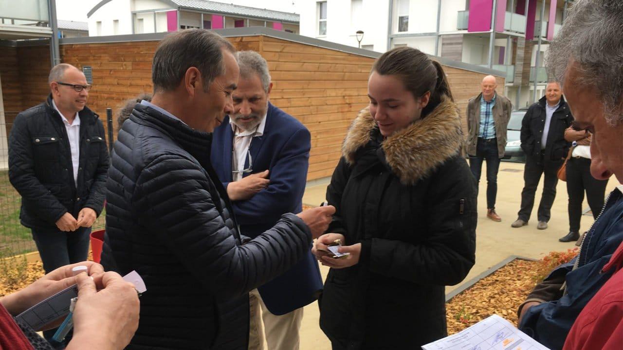 Remise des clés des 12 nouveaux logements à Mortagne-sur-Sèvre