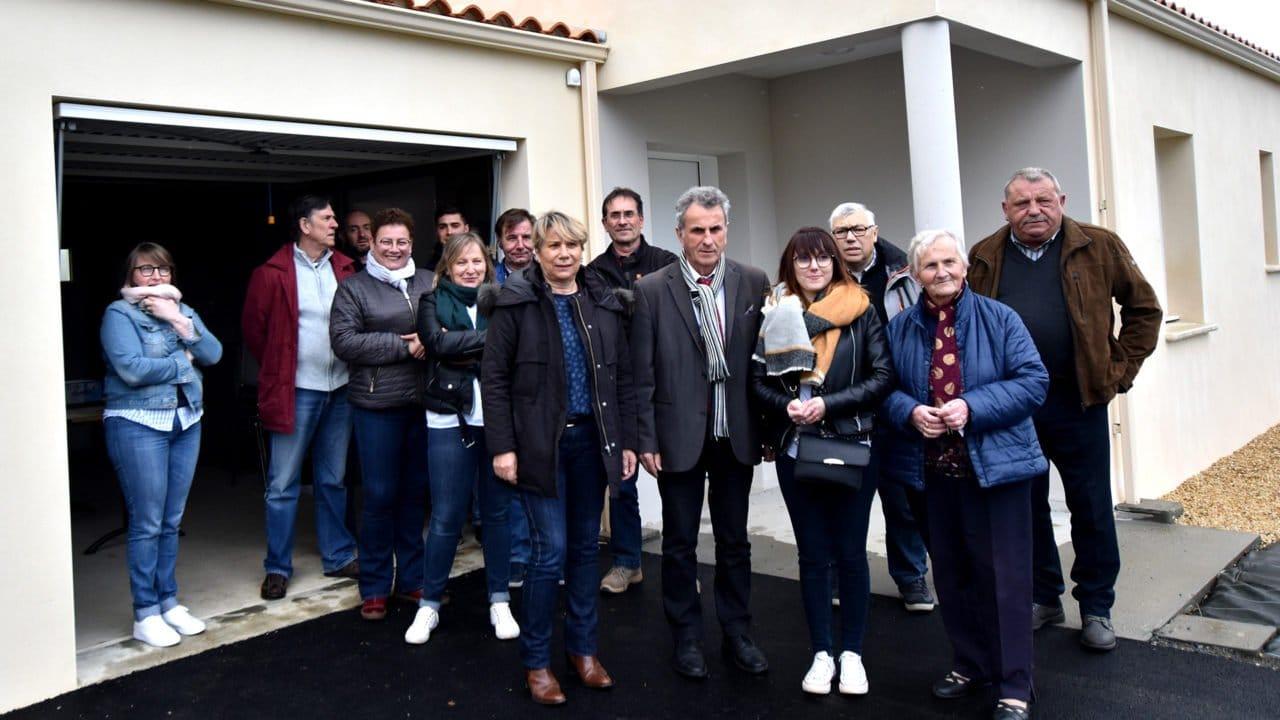 Remise de clés des 2 logements à Saint Hilaire le Vouhis