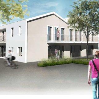 commerces services et logements à Saint Christophe du Ligneron