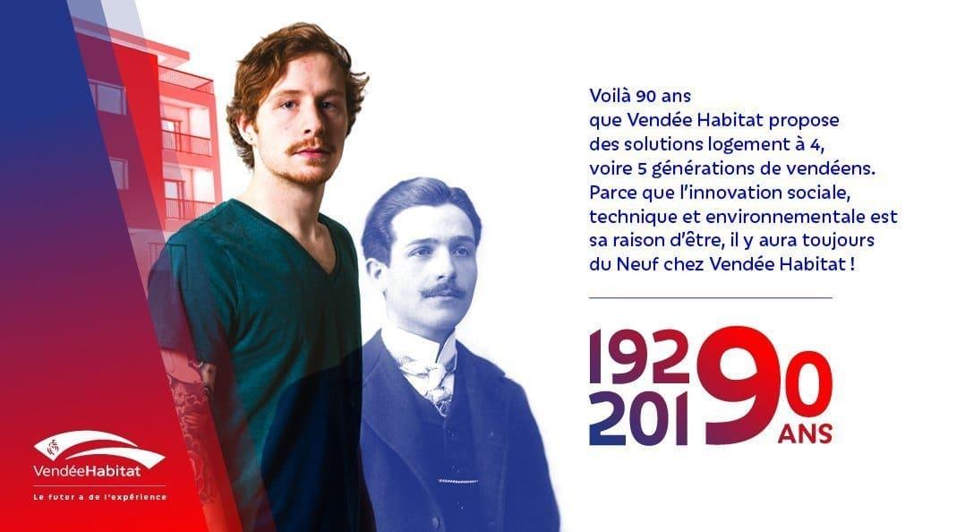 90 ans de Vendée Habitat - Le futur a de l'expérience