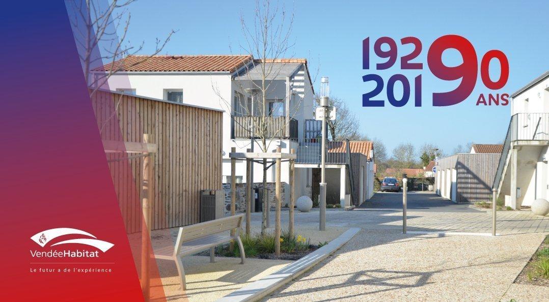 90 ans de Vendée Habitat - logements de qualité et reconnu
