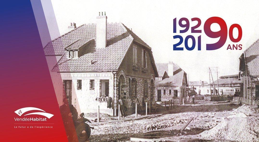 90 ans d'Histoire de Vendée Habitat