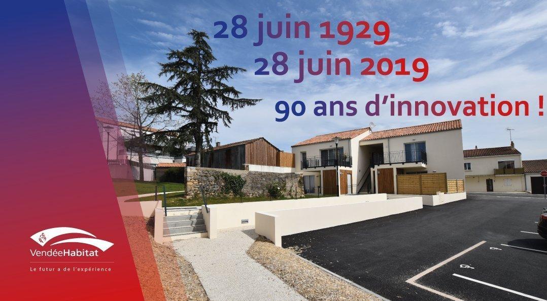 Vendée Habitat fête ses 90 ans
