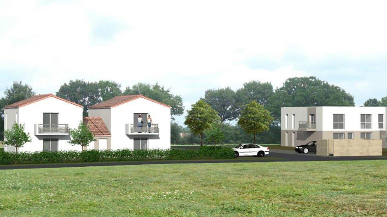 Futurs logements à Mouilleron-le-Captif