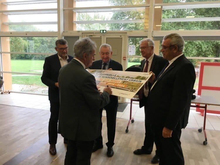 Signature de la convention du PRIR de La Roche-sur-Yon
